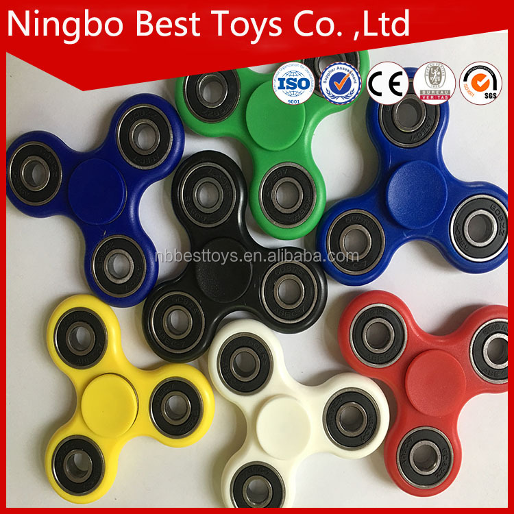 best selling Latest gadgets Stress Release fidget metal spinner /tri-spinner