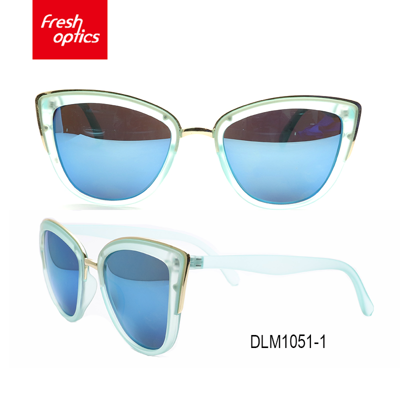 DLM1051 Special design widely used premium sunglasses polarized italian brand sunglasses futuristic sunglasses
