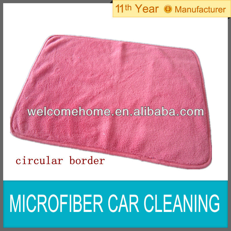Microfiber car cleaning cloth/coral fleece towel