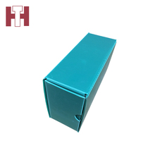 Custom printed cheap folding plastic storage boxes