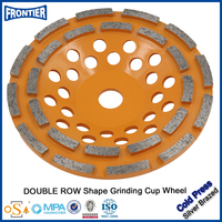 China high strength durable 5 inch small grinding diamond wheel