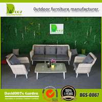 Outdoor Furniture Rattan Wicker Sofa Set DGS-0067