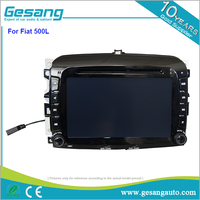 8 core android 6.0 car dvd player and gps navigation for Fiat 500 L with 2g ran 32g rom
