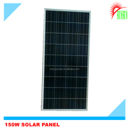 Framed 150W 30V poly solar panel