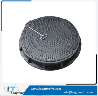 FRP Anti Theft Manhole Cover, SMC Manhole Cover Round EN124