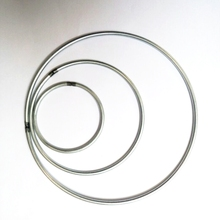 stainless steel 316 wire wreath O ring metal wire circle