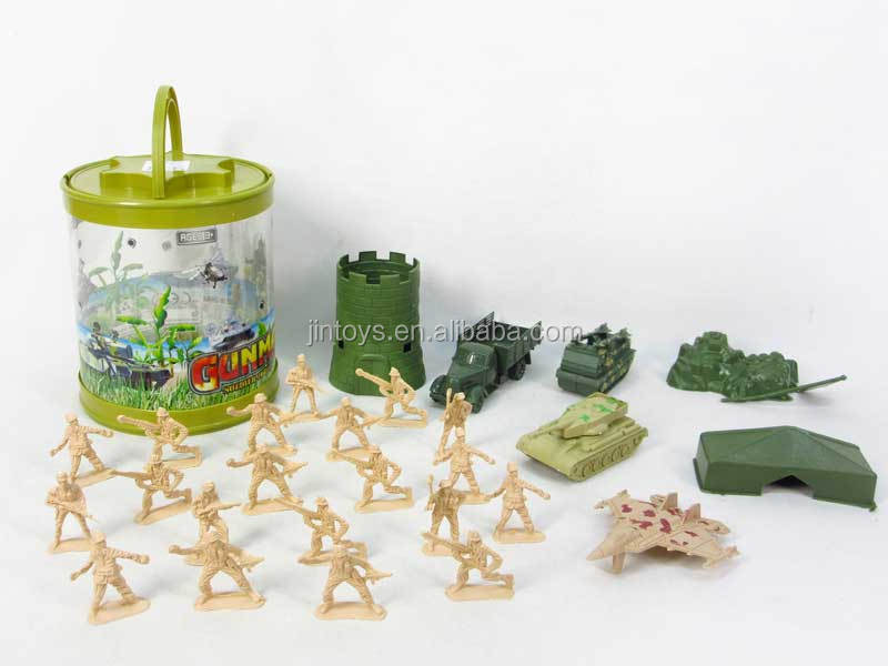 Military Set Toy, Plastic Soldier and Military Vehicles Set Toys