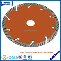 New Style Cold Pressed Standard Segment Diamond Saw Blade