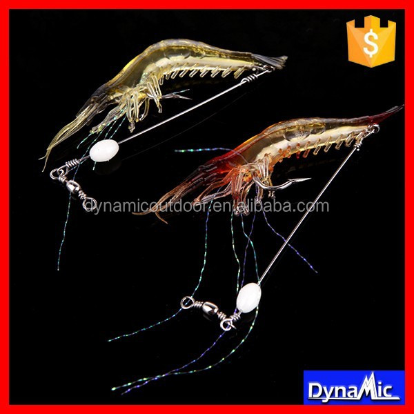 Prawn Soft Plastic Fishing Lures Shrimp Lures