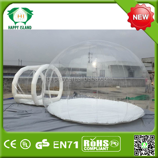 inflatable outdoor camping bubble tent for sale,large camping tents, inflatable dome tent for sale