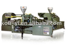Two Colour Rotary Type Plastic Soles Automatic Injection Moulding Machine