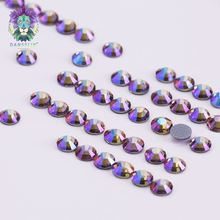 New products excellent quality crystal paradise shine garment flatback cheap rhinestone