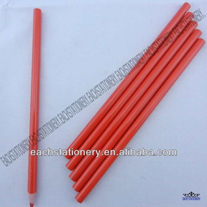 7 Inches Special Wooden Glass Marking Color Pencil