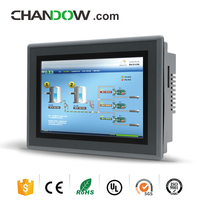 "7"" industrial lcd touch screen fanless hmi pc With Cortex A8 CPU"