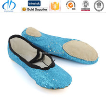 indoor winter coloured wholesale colored ballet slippers shoes