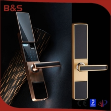 New smart electronic password keypad finger print door lock with touch screen