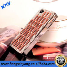 2014 fashion mobile rhinestone phone case for iphone 5s