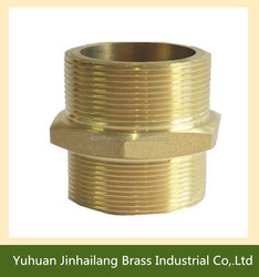 Chrome Plated Brass Reducing Nipple,Male Adaptor Pipe Fitting,Brass Pipe Hose Nipple