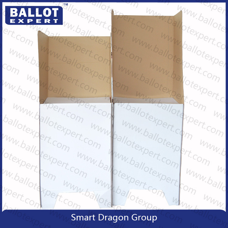 Cheap cardboard voting booth exhibition booth buy for Trade show poll booth
