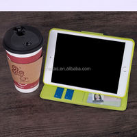 Super slim business shoulder bag card slots leather case minion case for ipad 2 3 4 for ipad cover