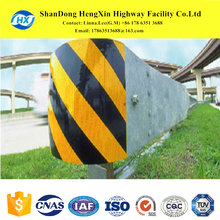 traffic facilities highway road safety crash barrier guardrail steel end terminal bullnose