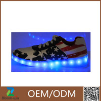 2016 Newest design LED shoes Light Up Shoes best sale in alibaba factory shoes in lower price