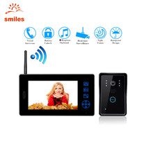 2.4G 7 inch LCD HD Wireless Video Door Phone/ Doorbell Intercom Camera For Office Buildings/Villas/Warehouse