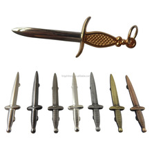 Custom Metal Souvenir Small Sword Molds Metal Sword