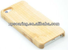 brand new wood case back cover for apple iphone 5