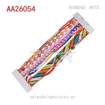 wholesale Wholeslae Fashionable Jewelry Multilayer Brazilian Seed Bead Bracelet