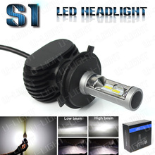 High quality S1 LED head light kit H1 H3 H4 H7 H11 9005 9006 LED headlight kit with 4000LM all in one design great price