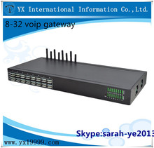 YX NEW ! Hot goip 8 port gsm gateway/multi sim card gsm modem 8 ports/easy phone voip gateway
