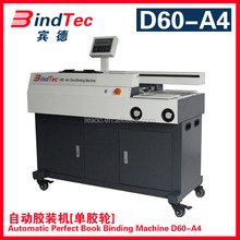 BD-D60-A4 Gluing Machine Type and Yes Computerized glue book binding