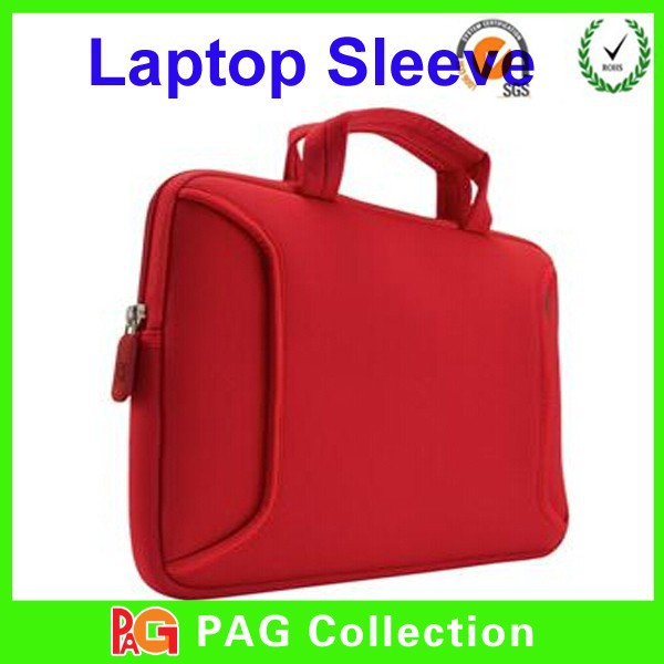 2014 Beautiful Design 14 inch LAPTOP SLEEVE WITH HANDLE NOTEBOOK BAG SOFT CASE NEOPRENE