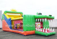 Top quality Inflatable slide n slip for sale Z3008