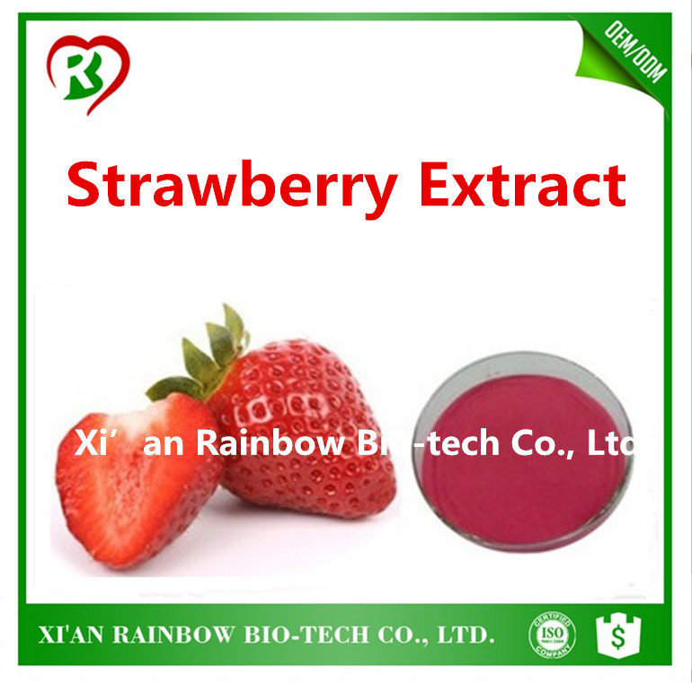New design strawberry flavor extract powder Brand new freeze dried fruit powder white kidney bean extract