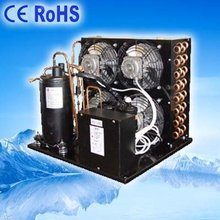 Chiller of Refrigerating air cooled condensing unit heat exchanger spare