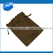 Customized Leather Jewelry Roll Bags, Travel Jewelry Roll Pouch