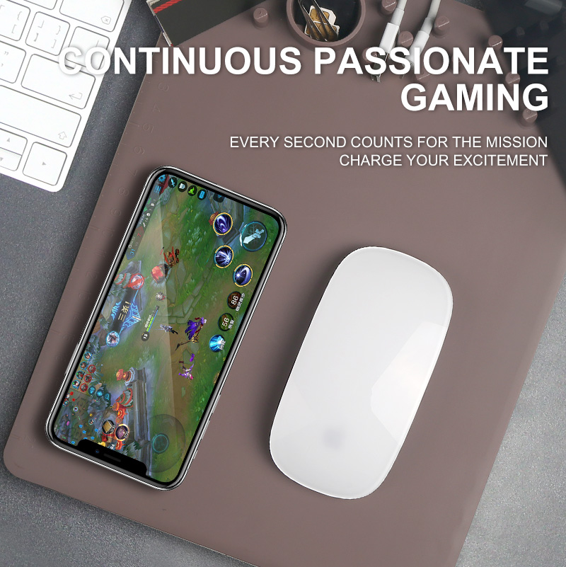 Custom innovative large gaming multi-functional organizer mouse pad