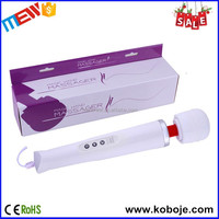 Personal electric shock 15 speeds wired vibrating body sex toy vagina massager