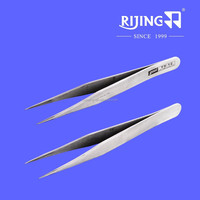 Sewing machine parts accessories TS-12 / high precision stainless steel tweezers