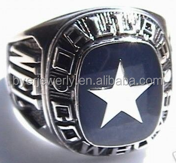 unique dallas cowboys championship ring custom star ring with cheap
