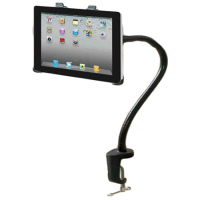 Flexible 360 Rotating Desktop Stand Lazy Bed Tablet Holder Mount for iPad Mini Android Tablet Flat PC