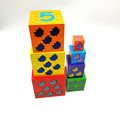 Kids Playing wooden Nesting Stacking Toys Box For Children