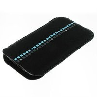 Mobile phone Case leather Alcantara with original crystals