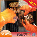RENJIA heat resistant gloves for food anti-heat silicon gloves silicone grabber