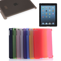plastic hard back case for ipad 2/3/4,matte case for apple ipad accessories