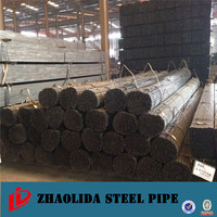 carbon steel structure pipe ! schedule 40 black iron pipe lsaw carbon welded steel tubes