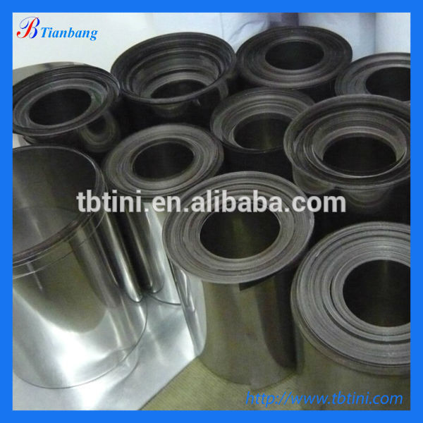 Baoji factory Cold rolled Ni 200 Ni 201 Nickel Strip for Battery, nickel foil (manufacturer)