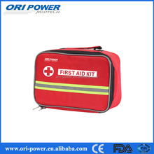 OP promotional CE ISO FDA approved good quantity multifunctional car and fire first aid kit